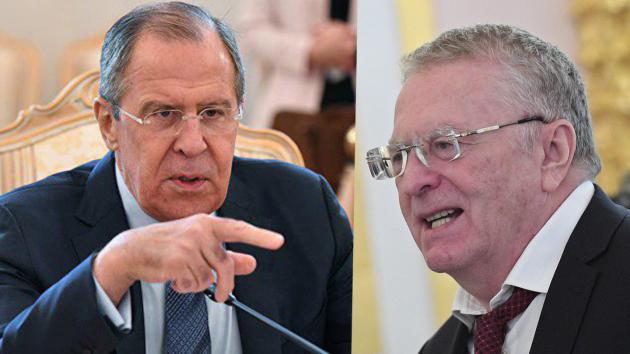 ВМИДРФ ответили напризыв Жириновского сократить  Лаврова