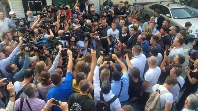 «Срочно спасать» украинцев приедет вКиев Саакашвили вдень ангела