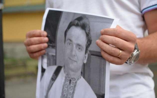НаМайдане Независимости почтили память Георгия Гонгадзе