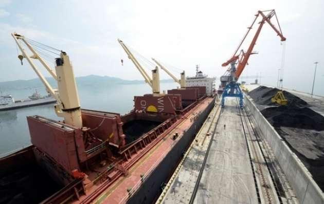 В Украинское государство прибыло 4-ое судно сантрацитом изЮАР