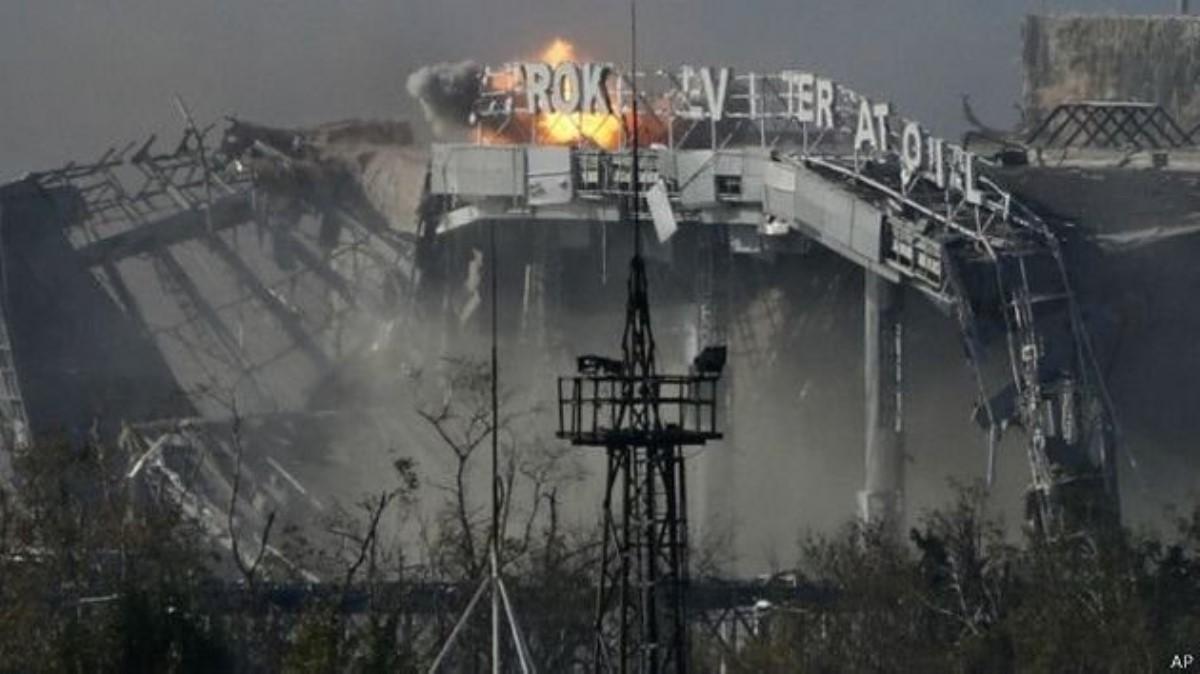 ВСУ неожиданно сообщили о«полном контроле» над взлетной полосой Донецкого аэропорта