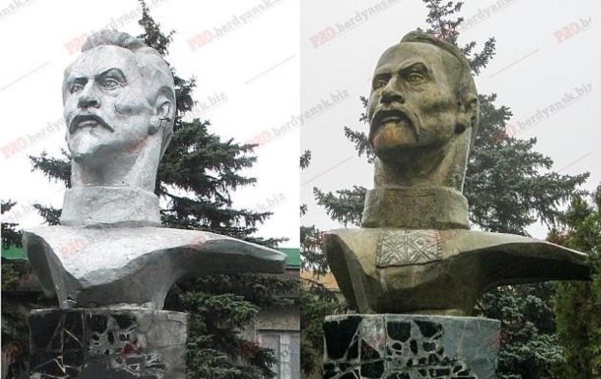 «Железный Феликс» уже нетот: переделанный под казака Дзержинский появился вУкраинском государстве