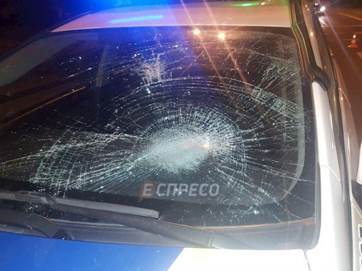 Встоличном Голосеево патрульные на Тоёта Prius сбили пешехода