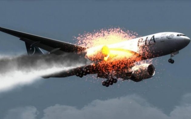 Упассажирского самолета, летевшего вИркутск, зажегся мотор