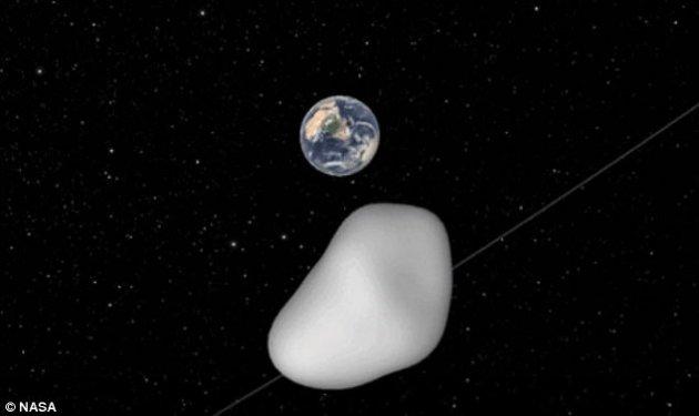 Около Земли пролетел астероид размером савтобус