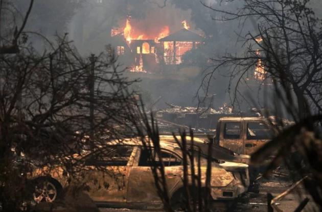 Число погибших лесных пожаров насевере Калифорнии выросло до 17 человек