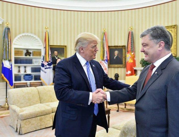 Трамп неторопится предоставлять Украине смертельное оружие