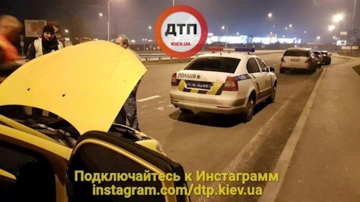 Погоня наскорости 190 км/ч: вКиеве задержали автоугонщика