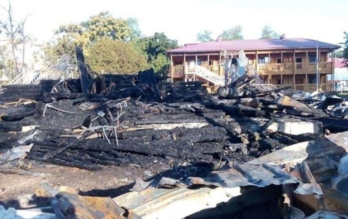 Пожар влагере «Виктория»: начальник заведения отстранен отдолжности