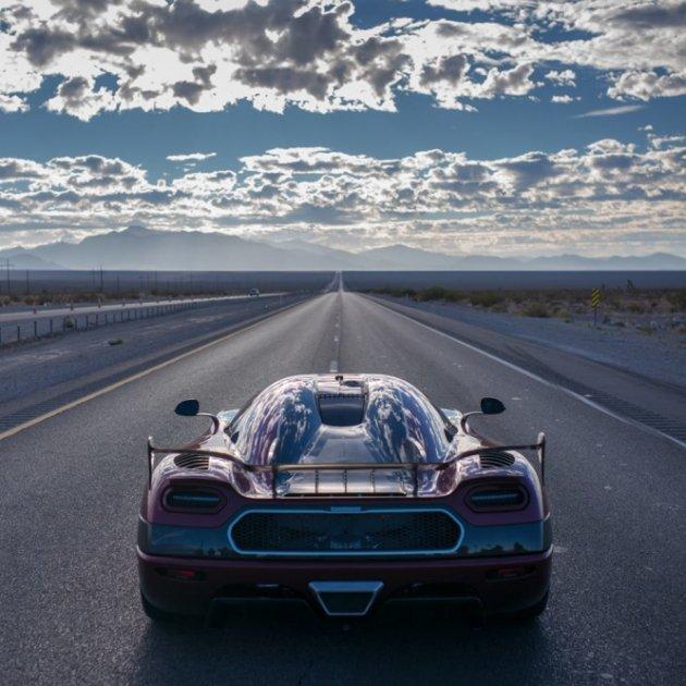 Koenigsegg AgeraRS официально признали самым быстрым автомобилем планеты