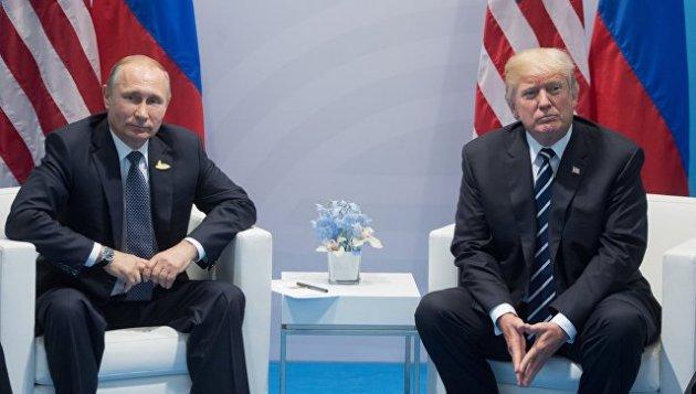 Белый дом проинформировал, что встречи Трампа и В.Путина небудет