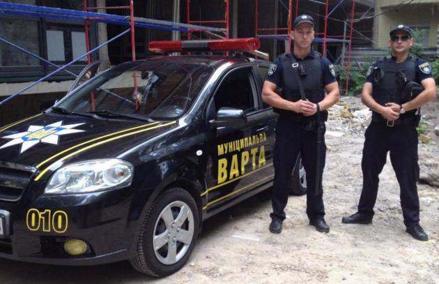 ВКиеве совторника начинает работу муниципальная стража
