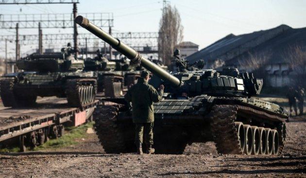 Климкин: НаДонбассе русских танков больше, чем имеет армия Великобритании