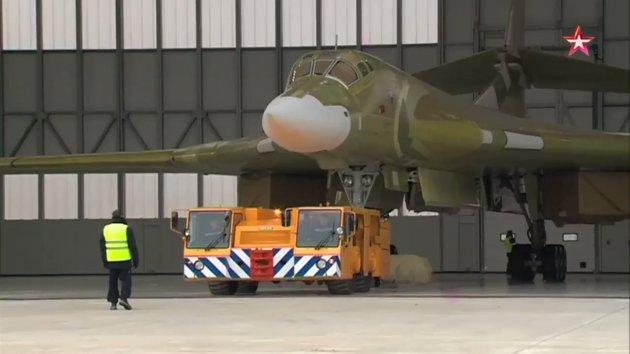 1-ый полет бомбардировщика Ту-160М2 состоится сначала 2018-ого