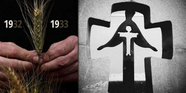 Вгородах государства Украины почтили память жертв голодоморов