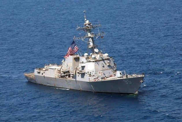 ВЧерное море вошел эсминец ВМС США скрылатыми ракетами наборту
