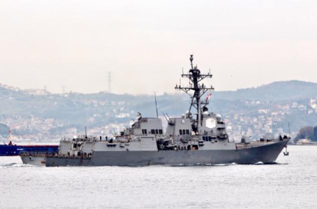 Ракетный эсминец ВМС США «Джеймс Уильямс» зашел впорт Одессы