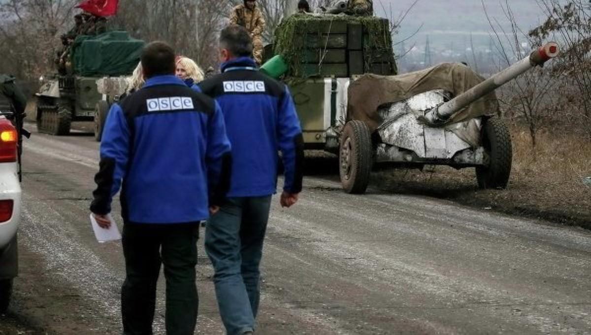 Тревожная статистика Донбасса. ОБСЕ передала число взрывов завыходные