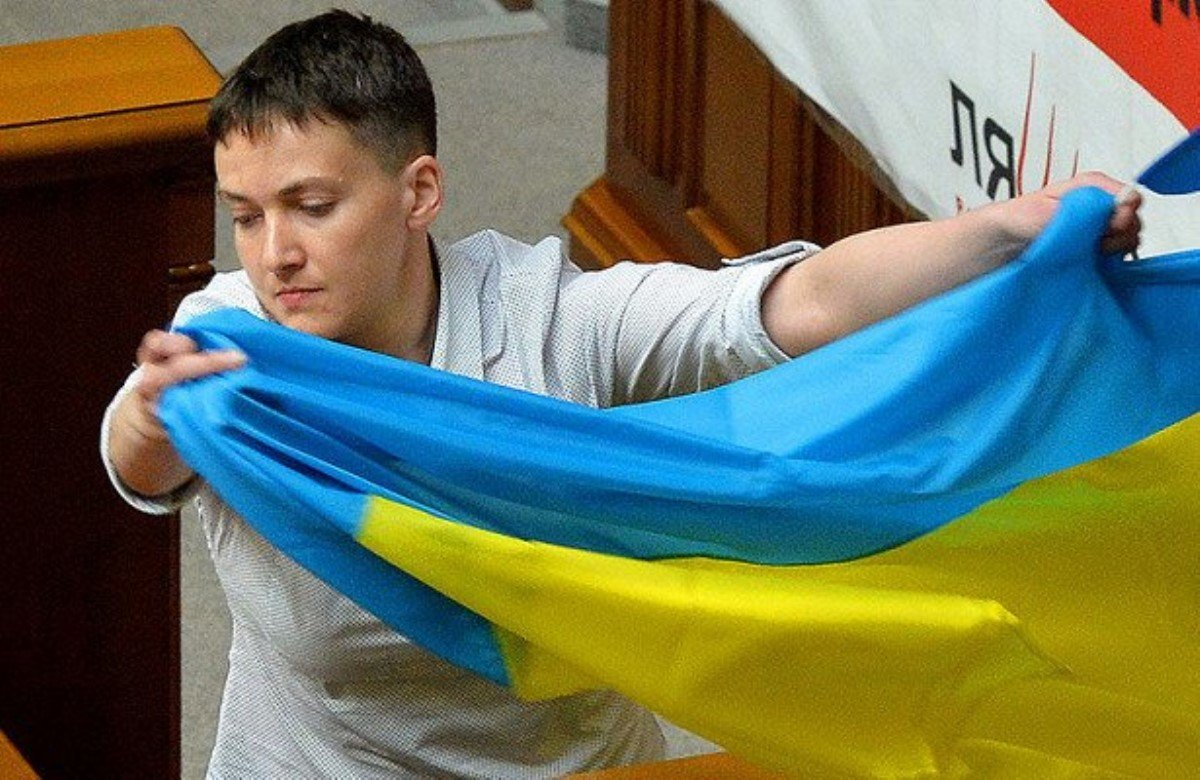Савченко назвала деятельность Саакашвили унижением для Украины 13декабря 2017 11:38