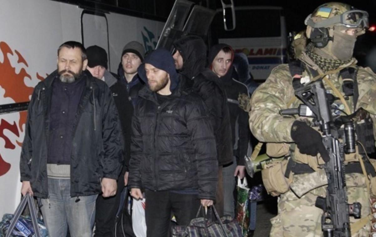 ЛНР направила пленных кместу обмена сКиевом