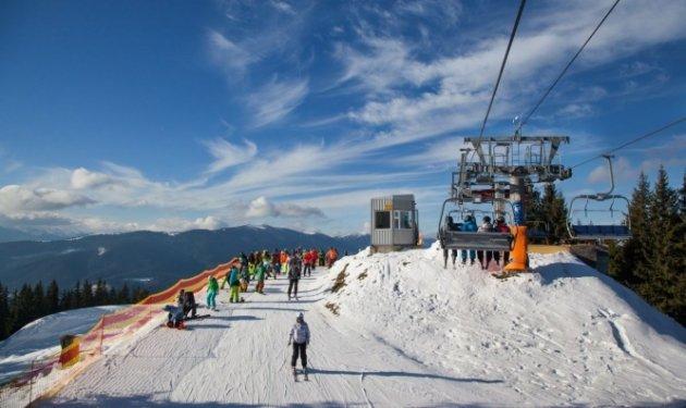 Нагорнолыжных курортах вСочи начался сезон катания