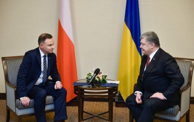 Польша поддержала государство Украину ввопросе ввода миротворцев наДонбасс