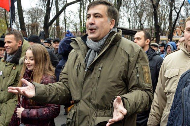 Саакашвили объявил онедоверии Генпрокуратуре иготов дать показания СБУ
