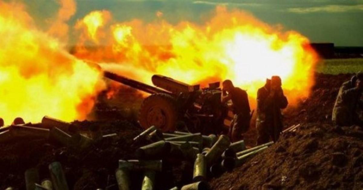 Штаб: Боевики обстреляли изтяжелого вооружения подконтрольный имДокучаевск