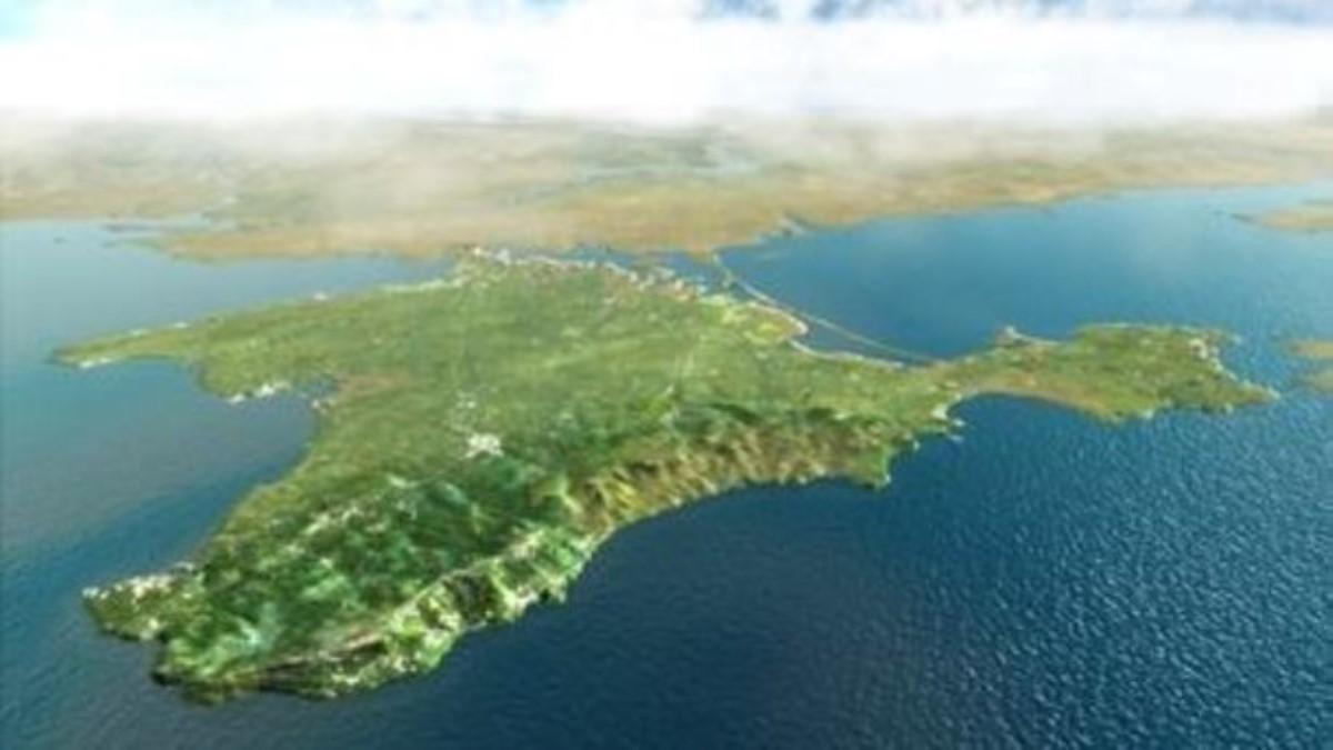 Ученые поведали оскорости движения Крымского полуострова всторону материковой части РФ
