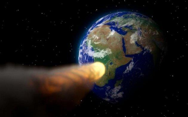 Крупный метеорит вночь на10февраля опасно сблизится сЗемлей