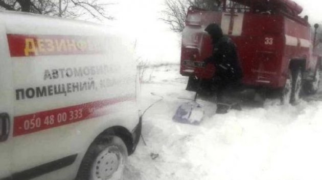 Медсотрудники консультировали потелефону: вПолтавской области женщина из-за непогоды рожала дома