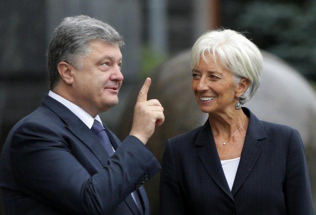 Долг Украины перед МВФ наконец января составлял 12 млрд долларов