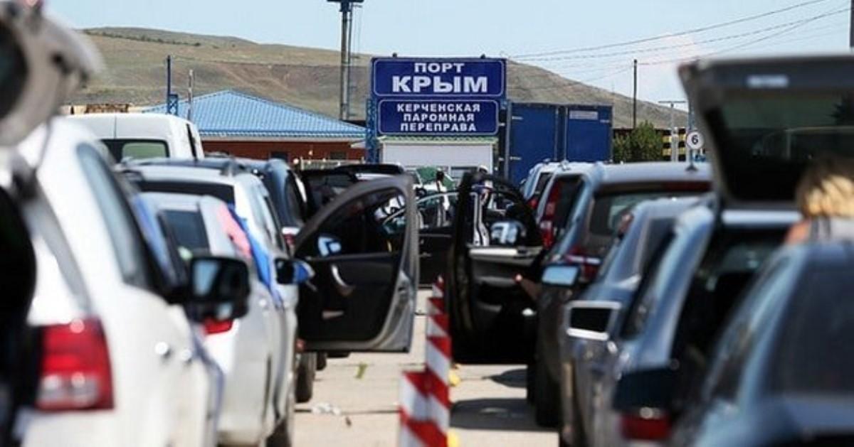 Непогода парализовала Керченскую переправу иотрезала Крым от РФ