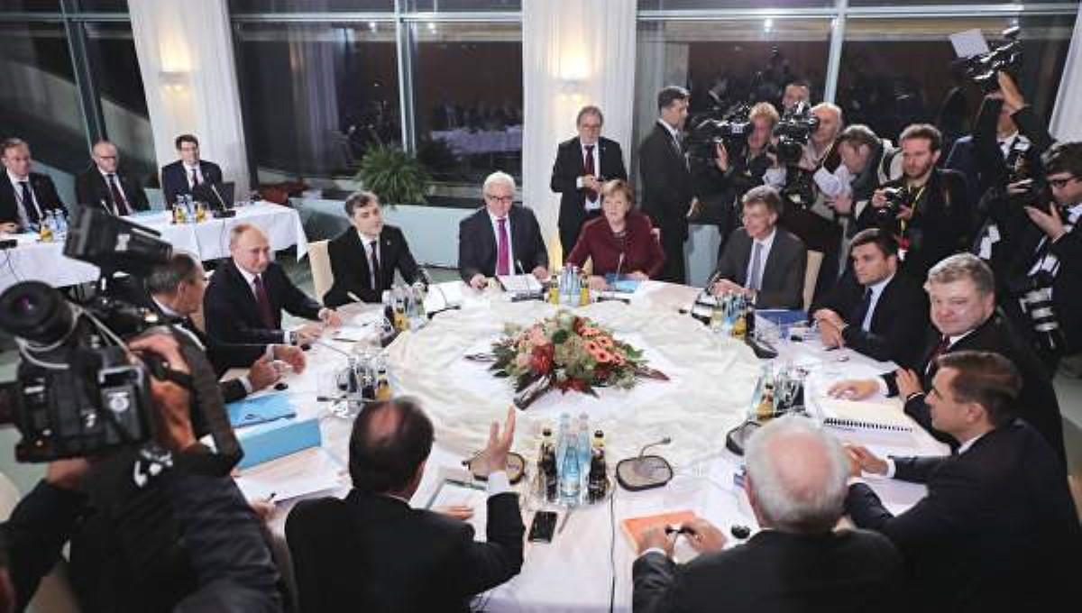 Путин илидеры стран «нормандского формата» ускорят исполненье Минских договоренностей