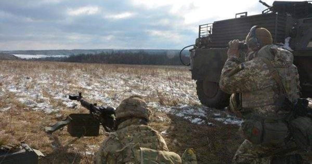 НаДонбассе умер  украинский военнослужащий— Штаб АТО