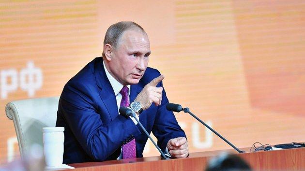 Медведев поздравил Владимира Путина спереизбранием надолжность президента