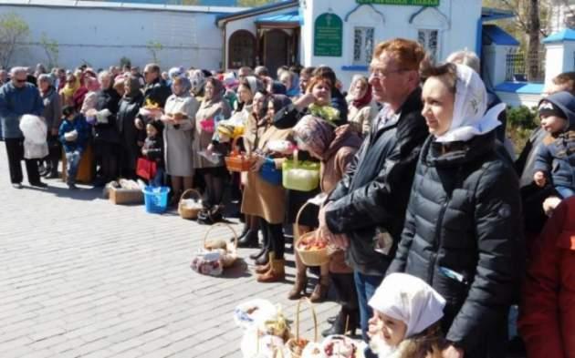Католики вЛитве празднуют Пасху