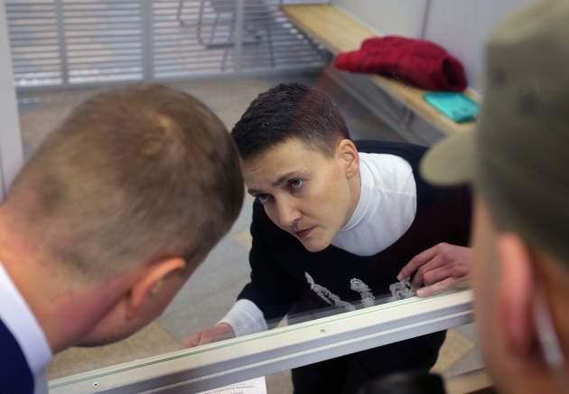 Надежду Савченко проверят наполиграфе