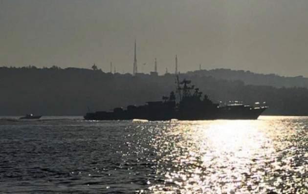 Корабли ВМФ РФ вошли вСредиземное море