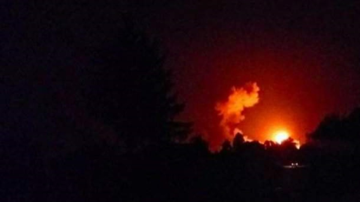 После взрыва навоенном складе под Черниговом начата эвакуация населения