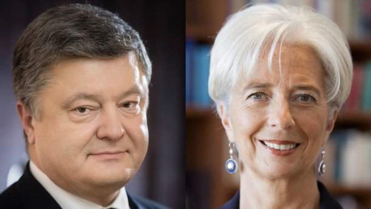 Порошенко переговорил сЛагард: МВФ одобрил главные  показатели государственного бюджета  на 2019г.