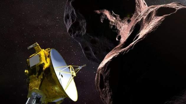 В Новый год космический зонд New Horizons приблизится к 'краю света'