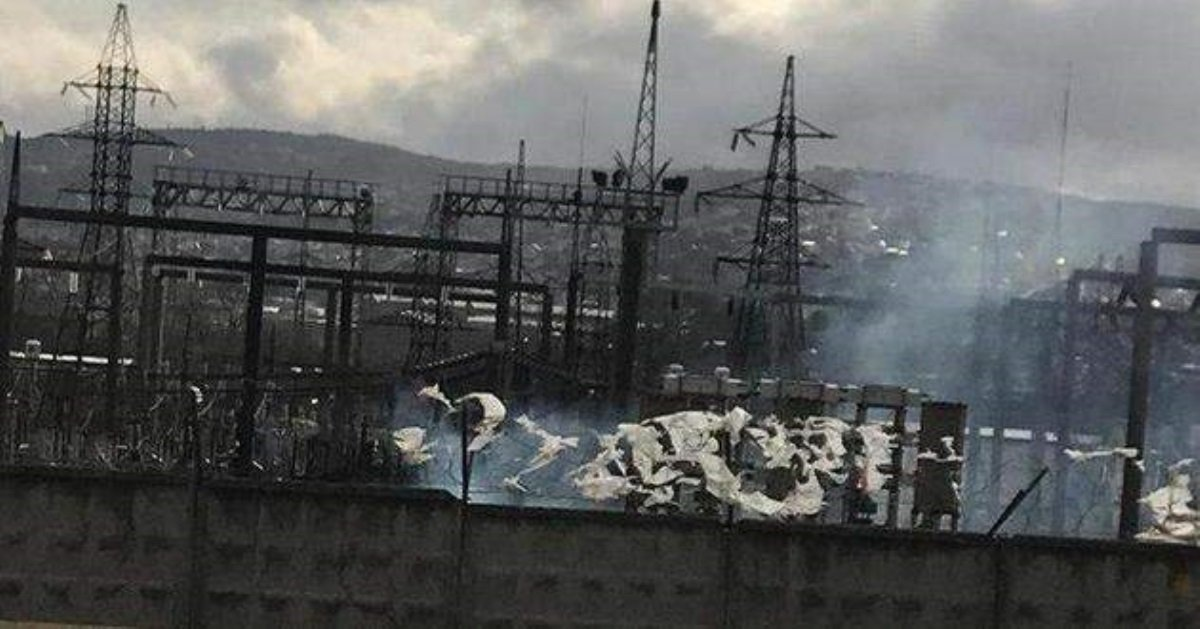 Наэлектроподстанции вНовороссийске произошел мощнейший  взрыв
