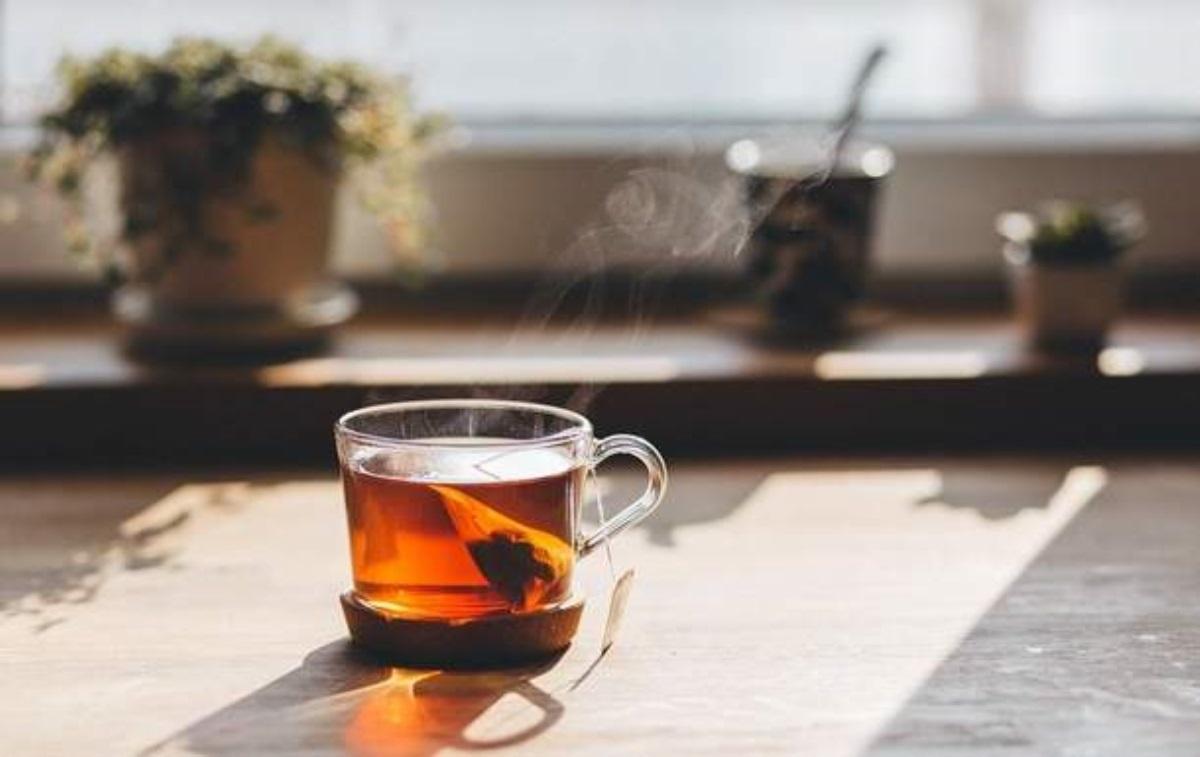 горячий чай рак
