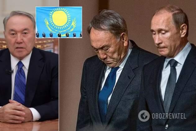 Назарбаев объявил обуходе споста президента Казахстана