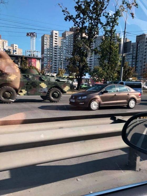 бронетехника, Киев