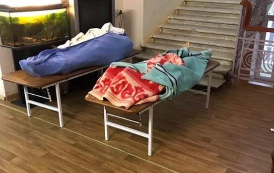 В одесской больнице умершие от COVID-19 лежат рядом с живыми