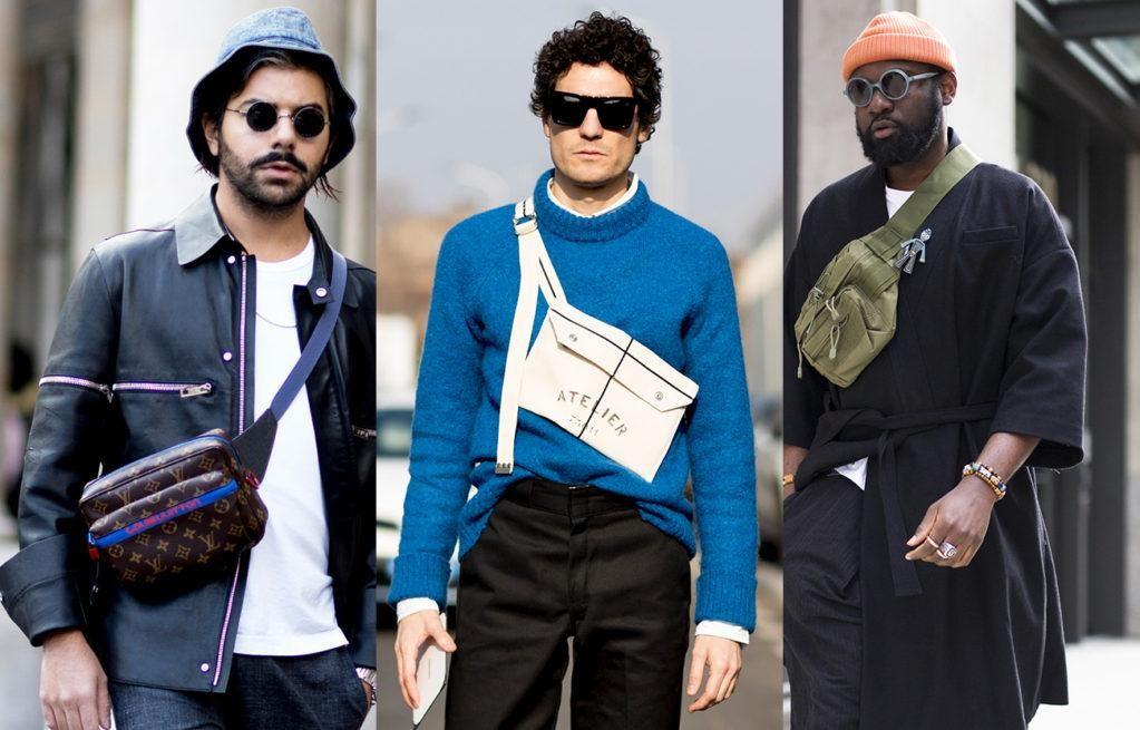 Как и с чем носить поясную сумку мужчине