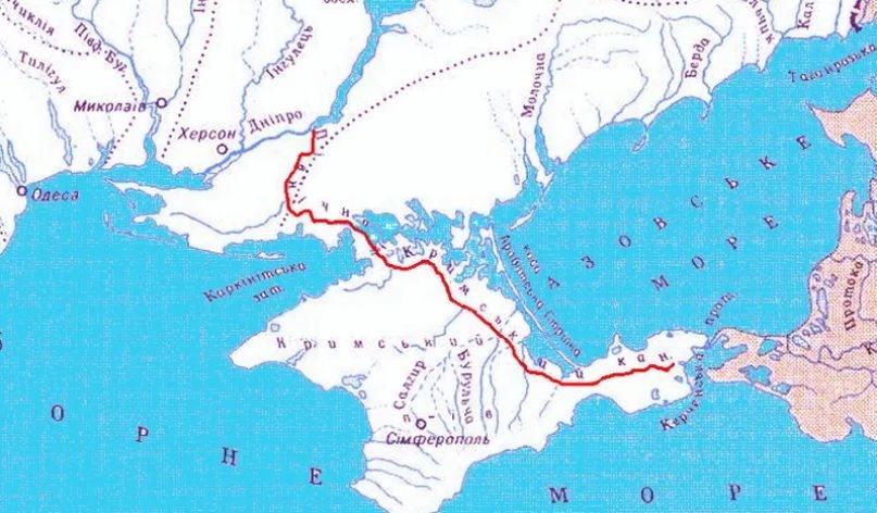 карта канала