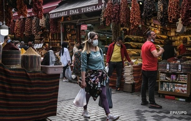 В Турции зарегистрирован рекордный прирост коронавируса